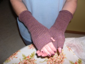 fingerless gloves for Amy