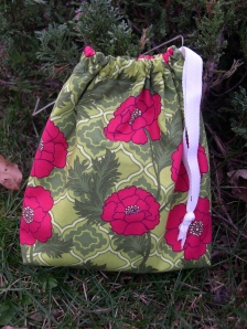mezzanine drawstring bag