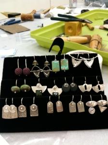 Kay's earring samples