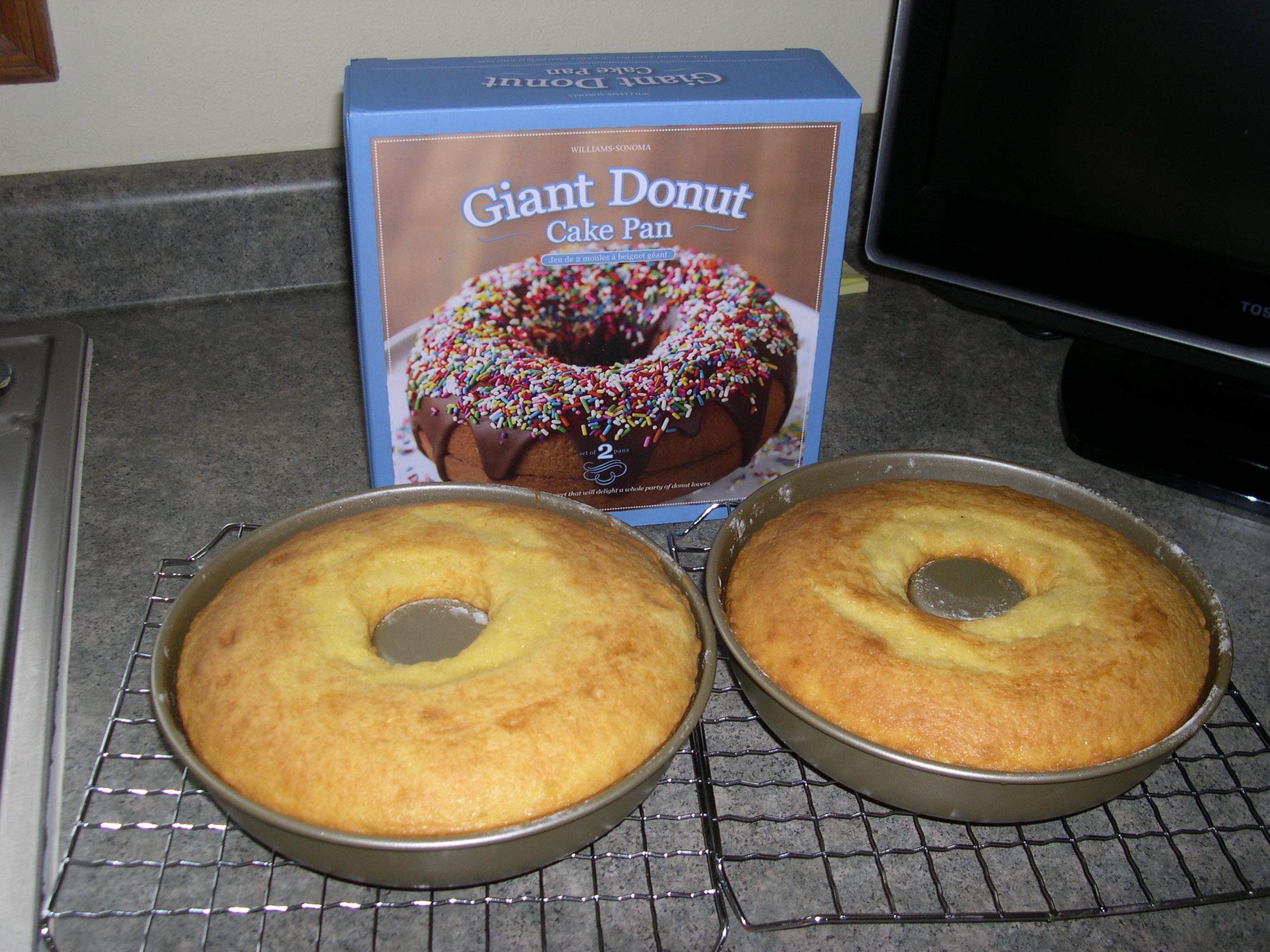 donut cake pan slice of donut cake anyone s notebook 3653