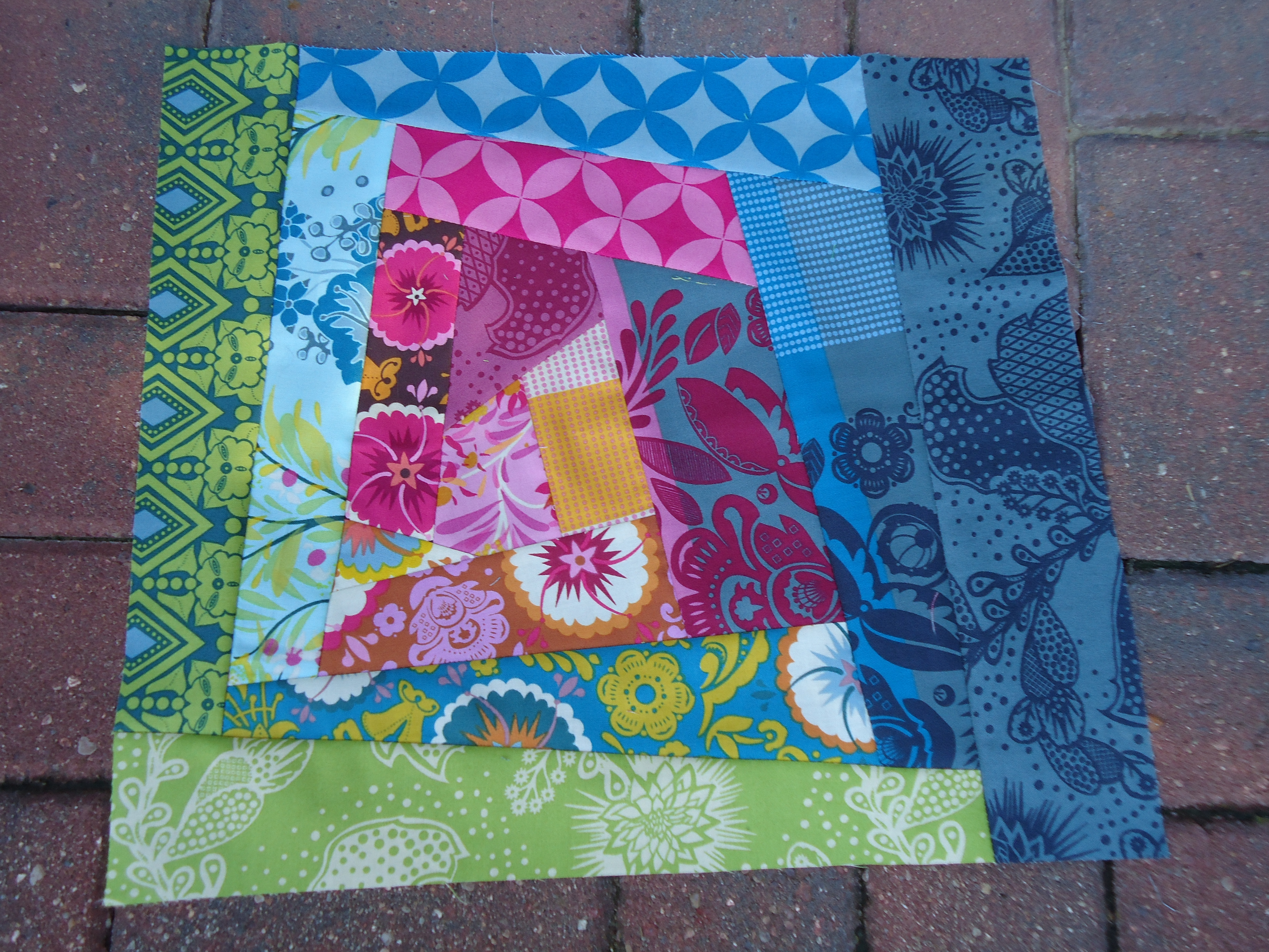 15 Minutes Of Play Crazy Patchwork Terri S Notebook