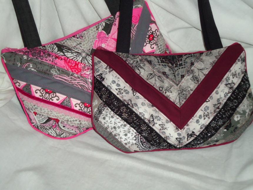 fancy patchwork handbags