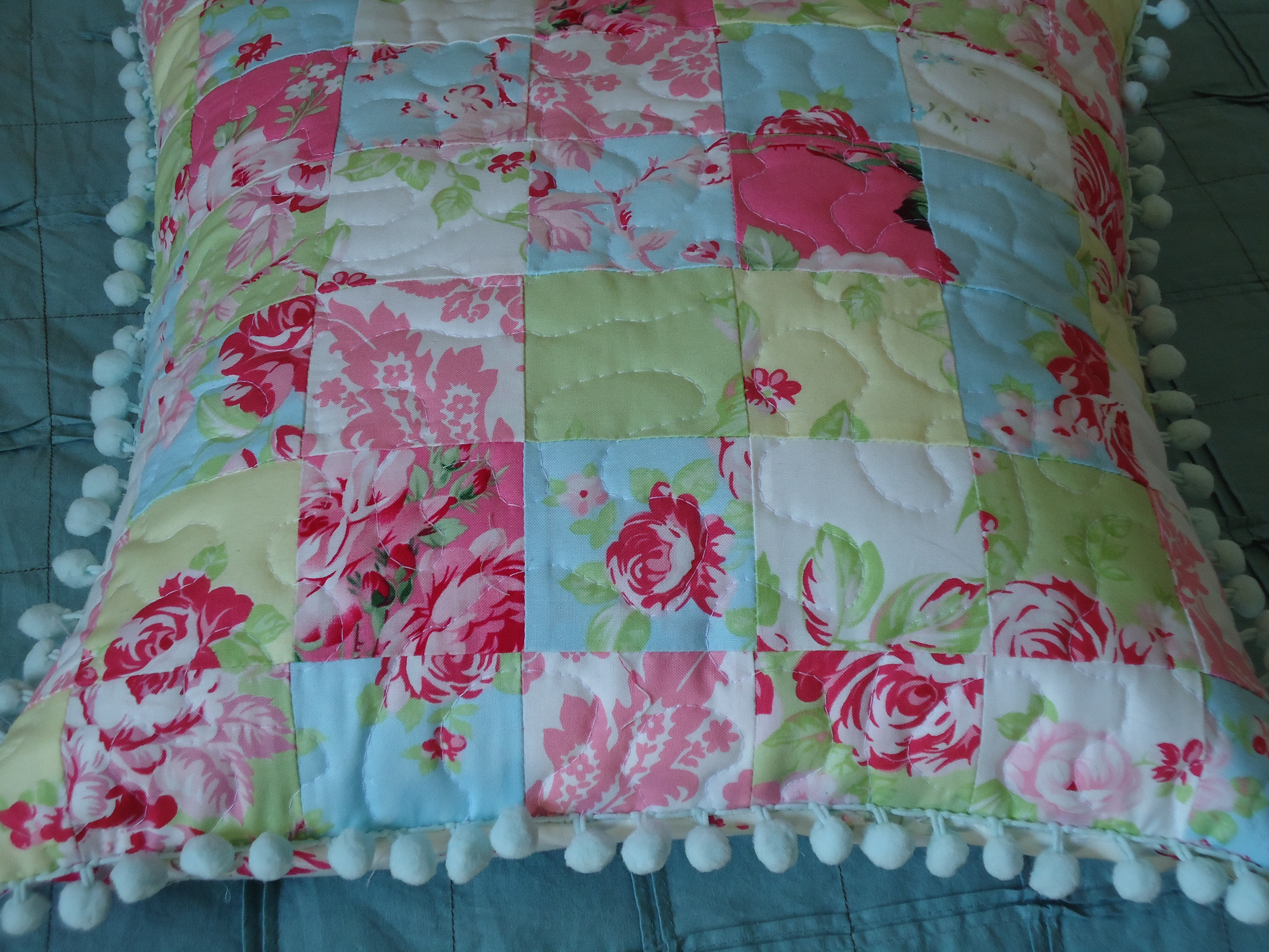 Shabby Chic Style Pillows : A Shabby Chic Pillow Terri s Notebook