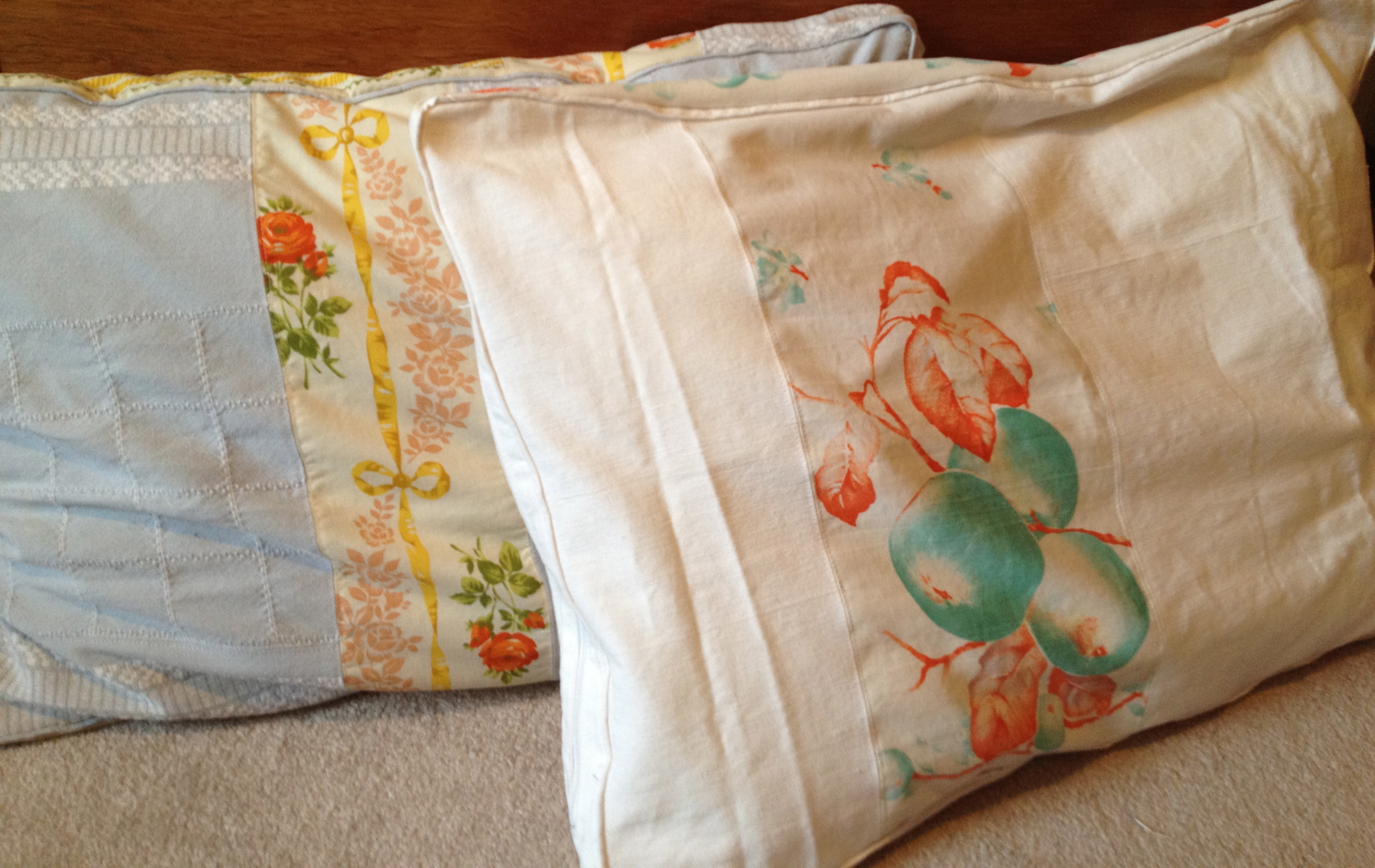 pillowcases vintage
