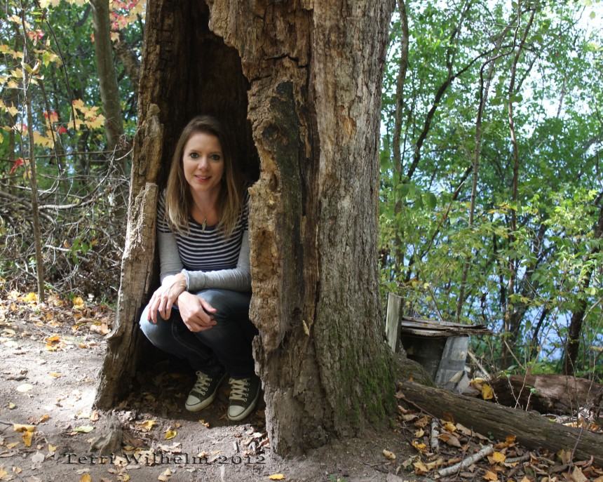 me in my hollow tree