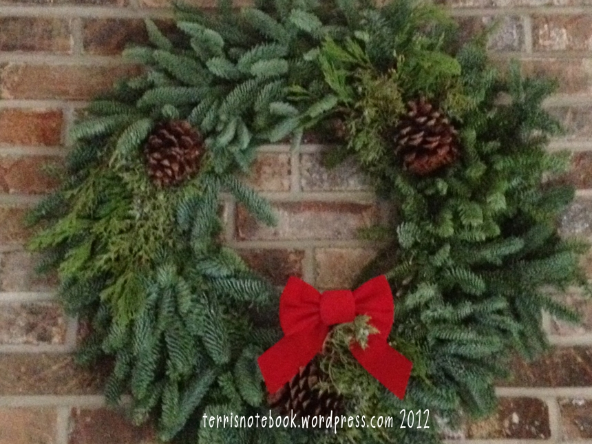 wreath from mom