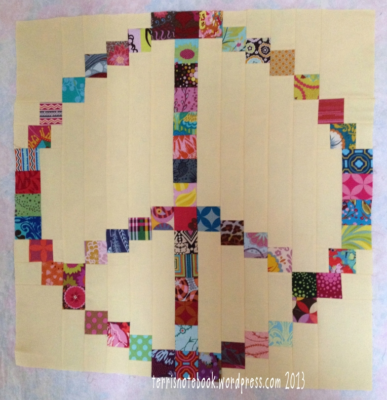 Peace Baby Quilt