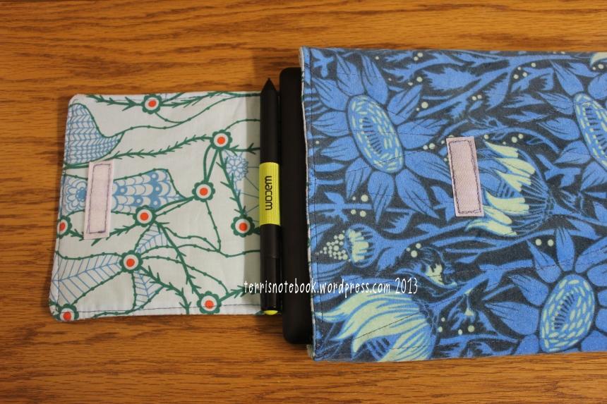 tablet case - open flap