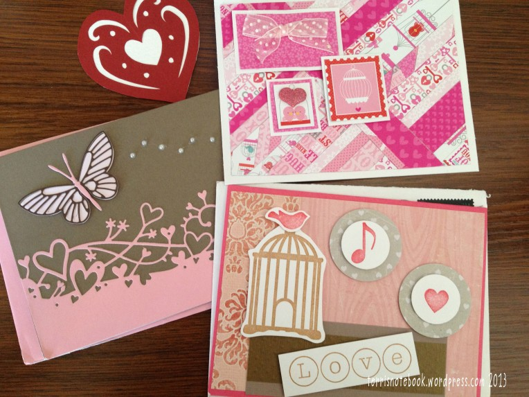 Valentine Cards from 2013 Swap