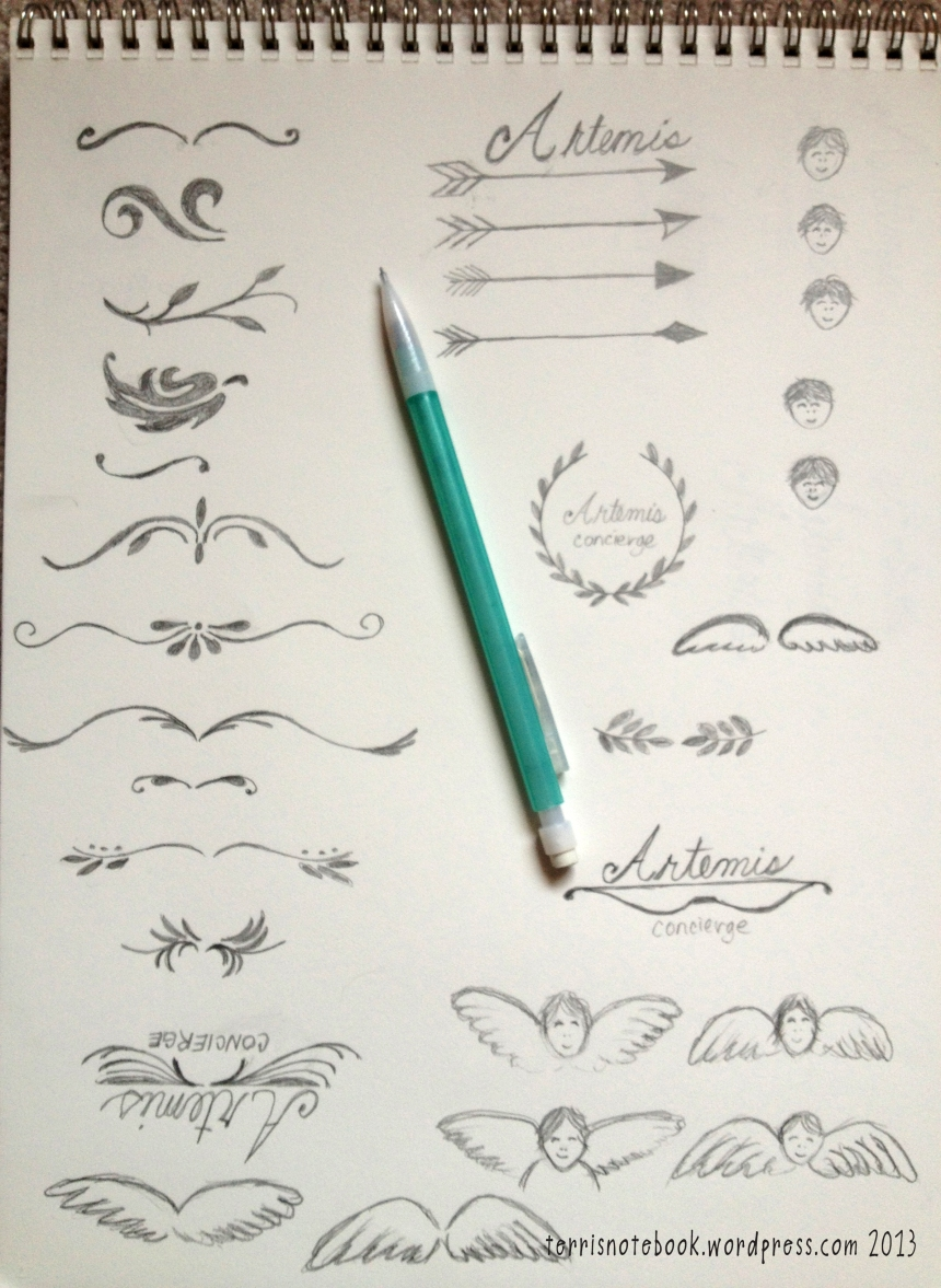sketches artemis