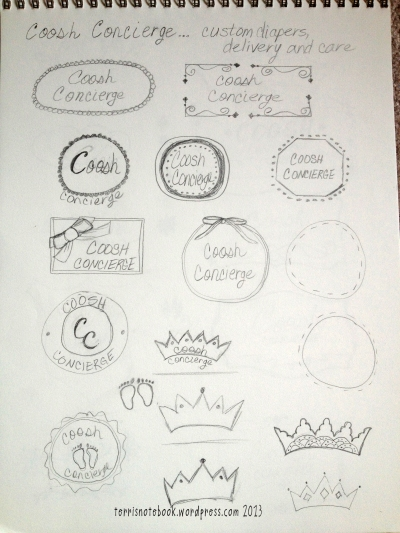 sketches for coosh concierge