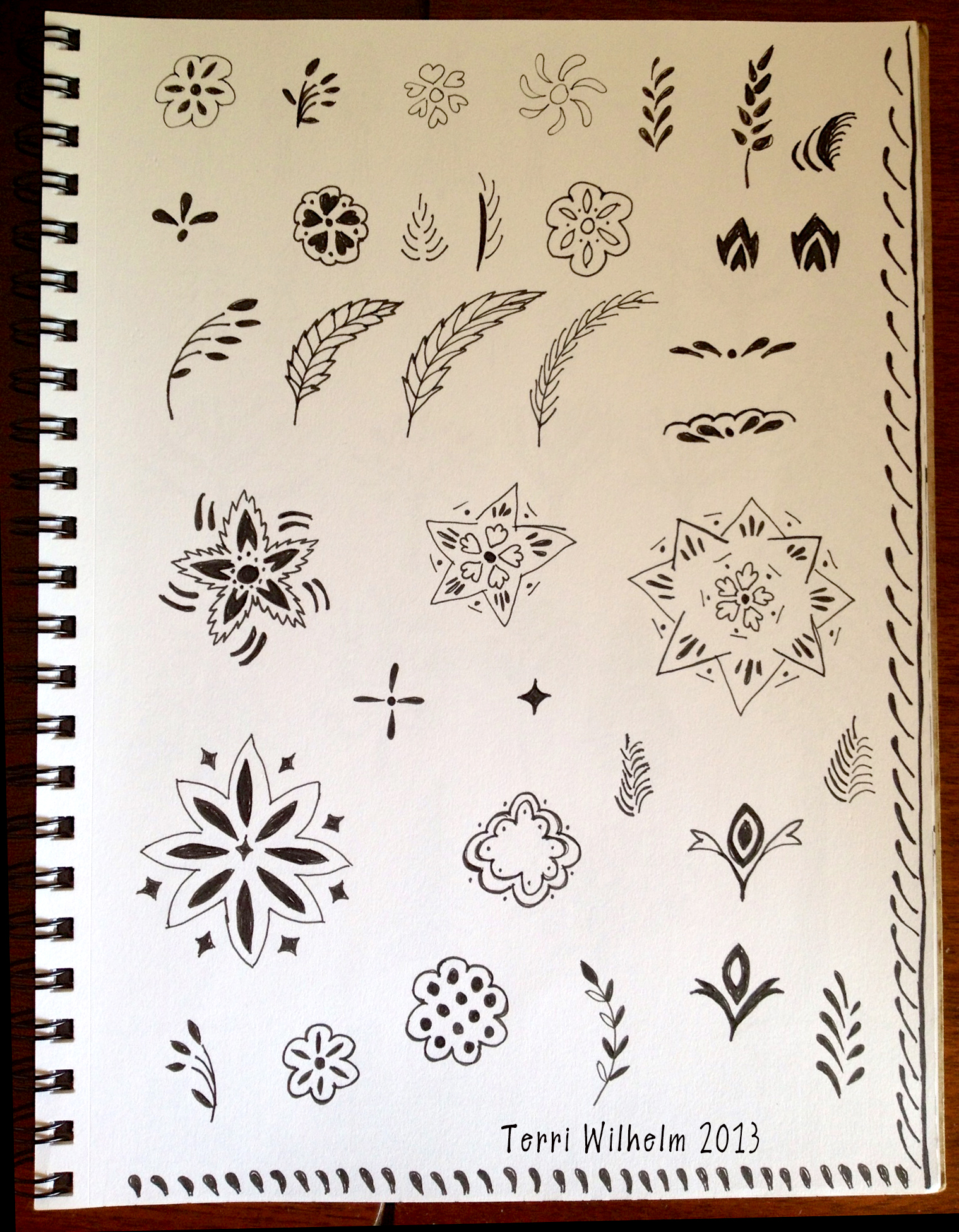 Doodle pages terri 39 s notebook for Small drawing ideas