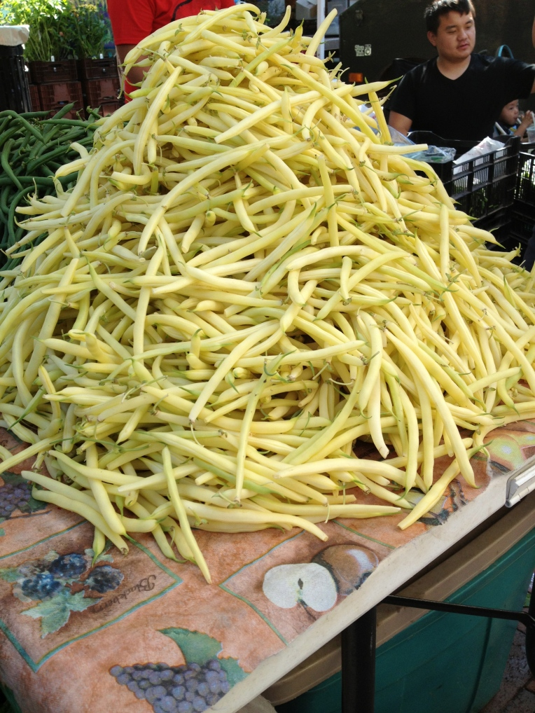 tower of wax beans