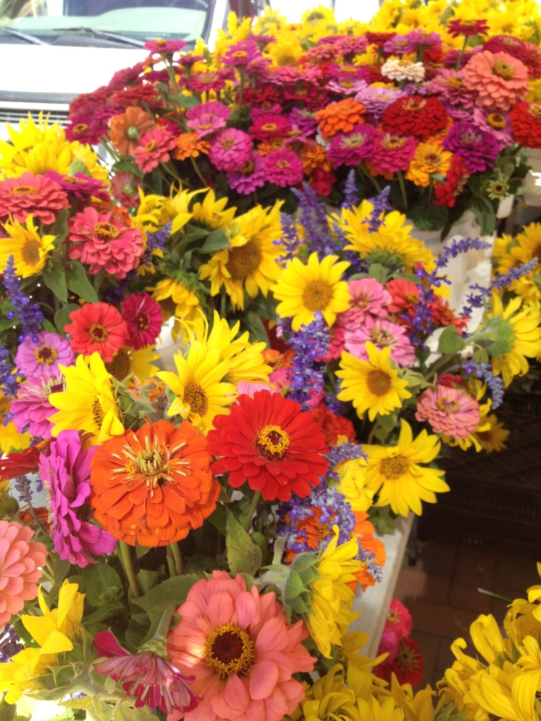late summer bouquets