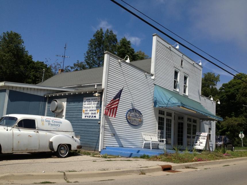 door county ice cream factory