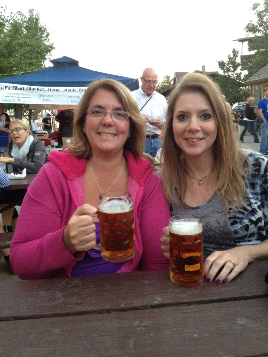 Nancy and I at Oktoberfest