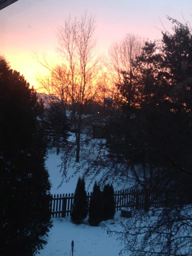 winter morning light