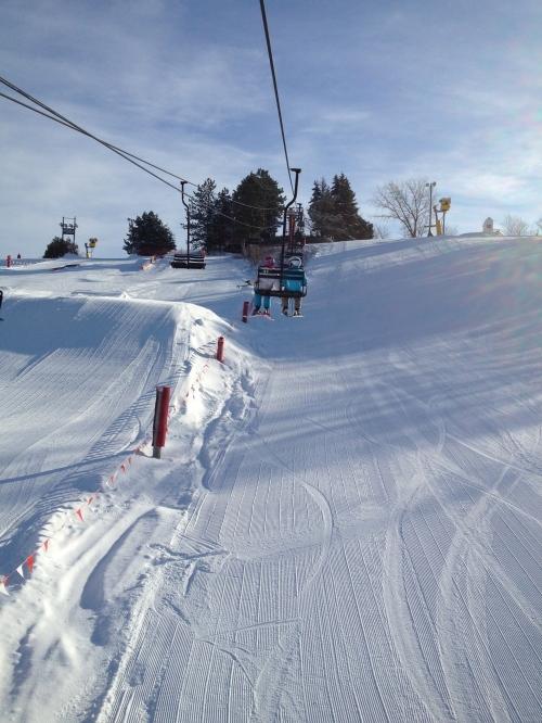 skiing at Little Switzerland