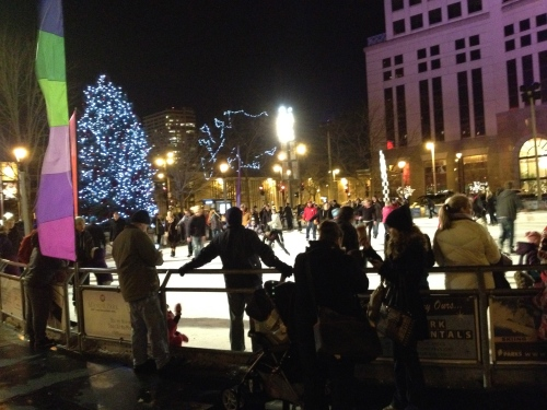 ice skating in Milwaukee