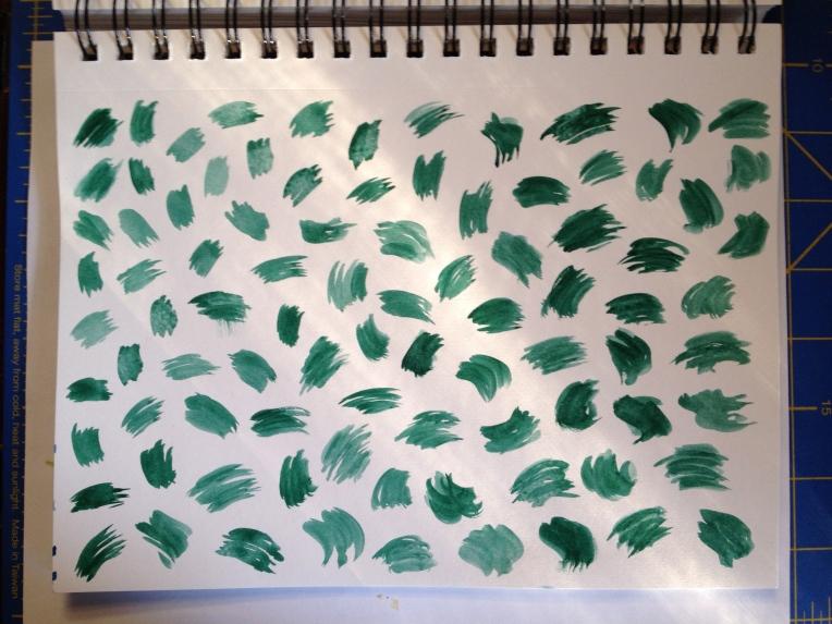green cheetah spots