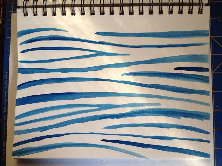 blue zebra strokes
