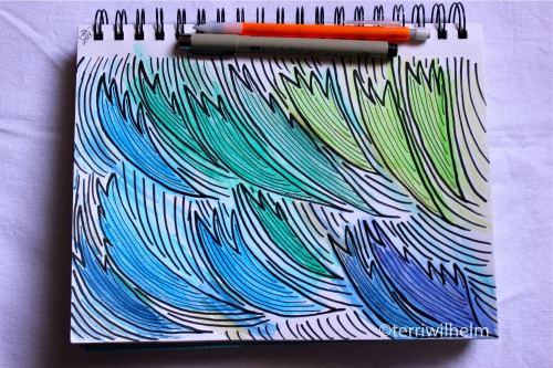 windswept illustration