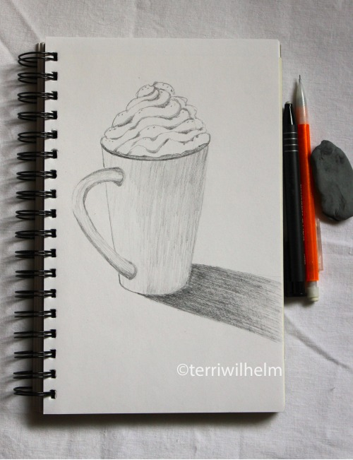 sketchbook peppermint mocha