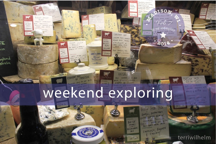 Weekend Postcard cheese
