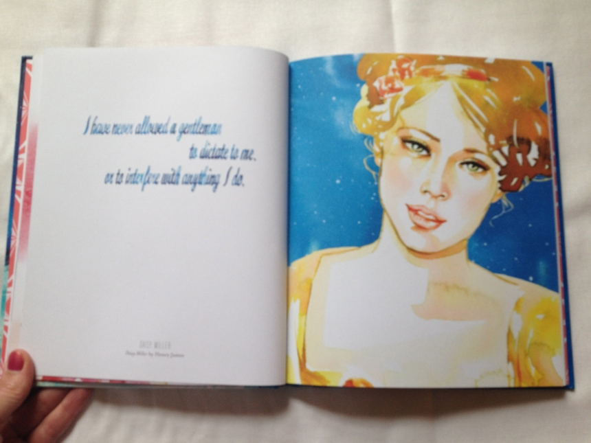 Samantha Hahn's illustrated book