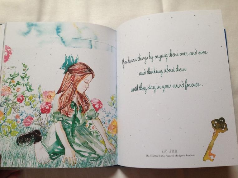 Samantha Hahn's illustrated book