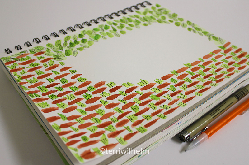 sketchbook pathway letter