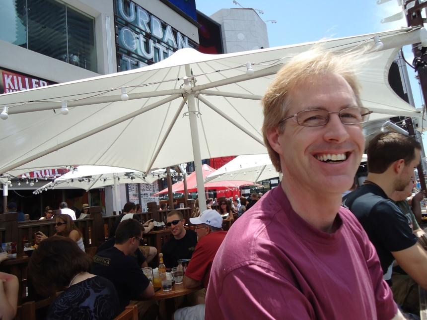 Dave at Cabo Wabo