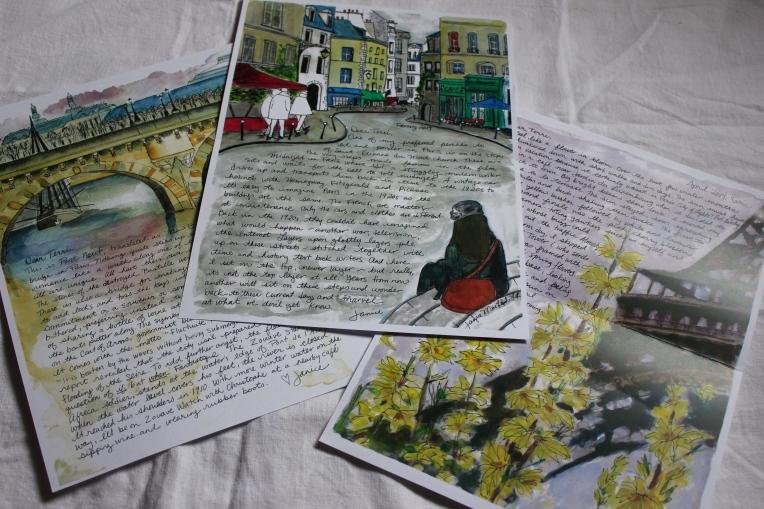 Paris Letters February March April