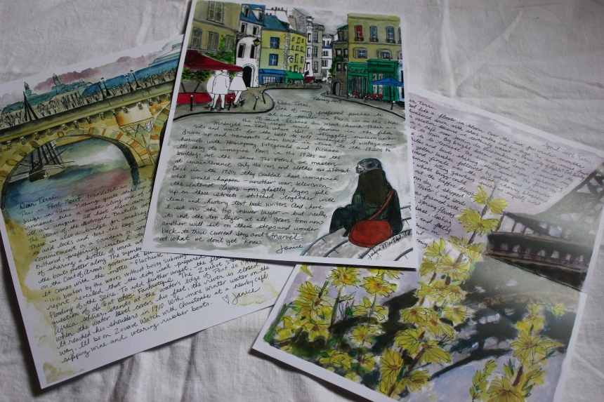 Paris Letters February March April