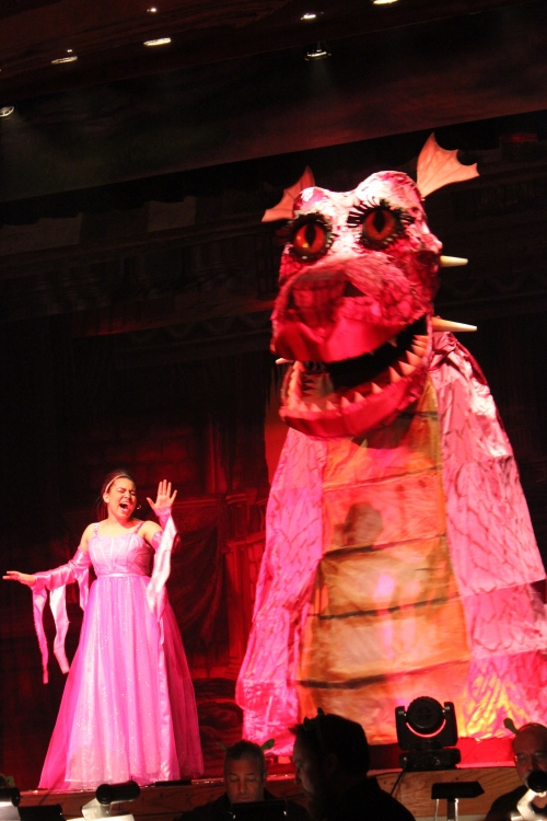 abby as the dragon
