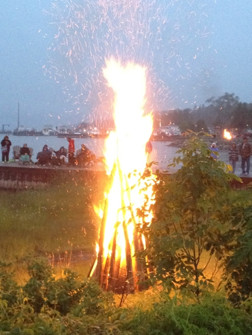 Fyr Ball bonfires