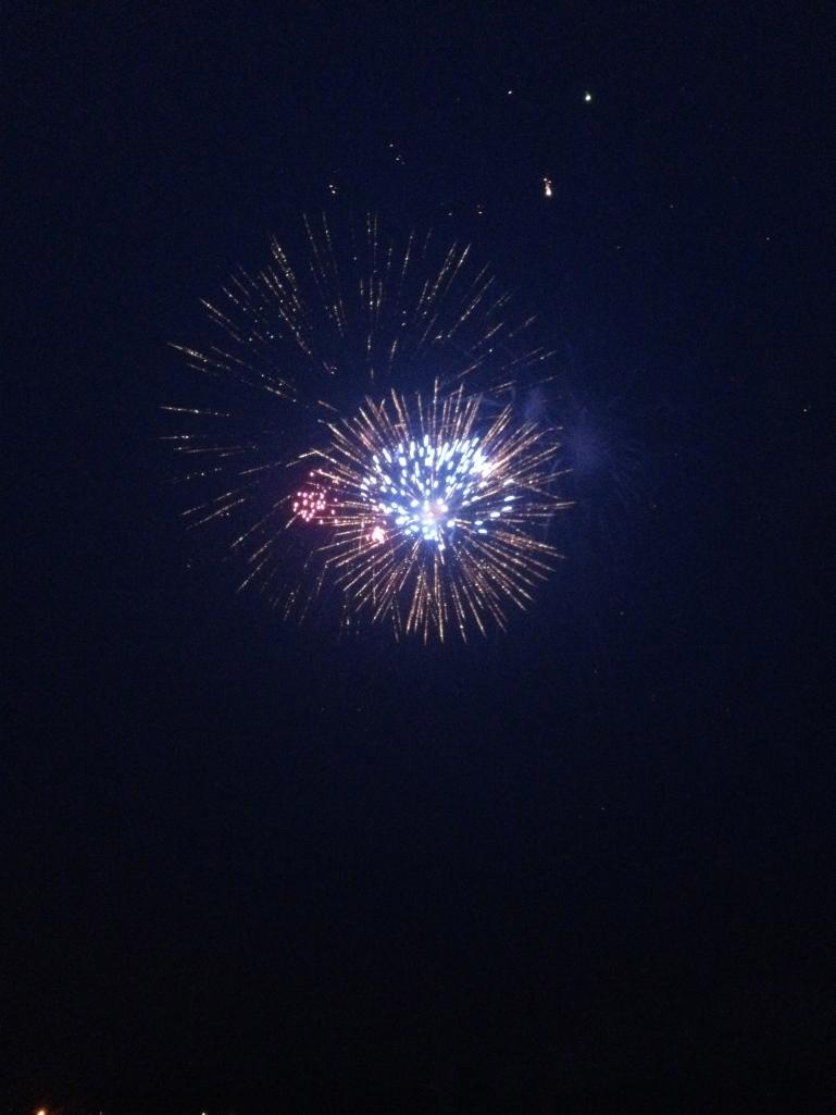 Fyr Ball fireworks