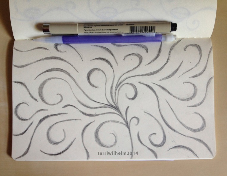 sketchbook swirls