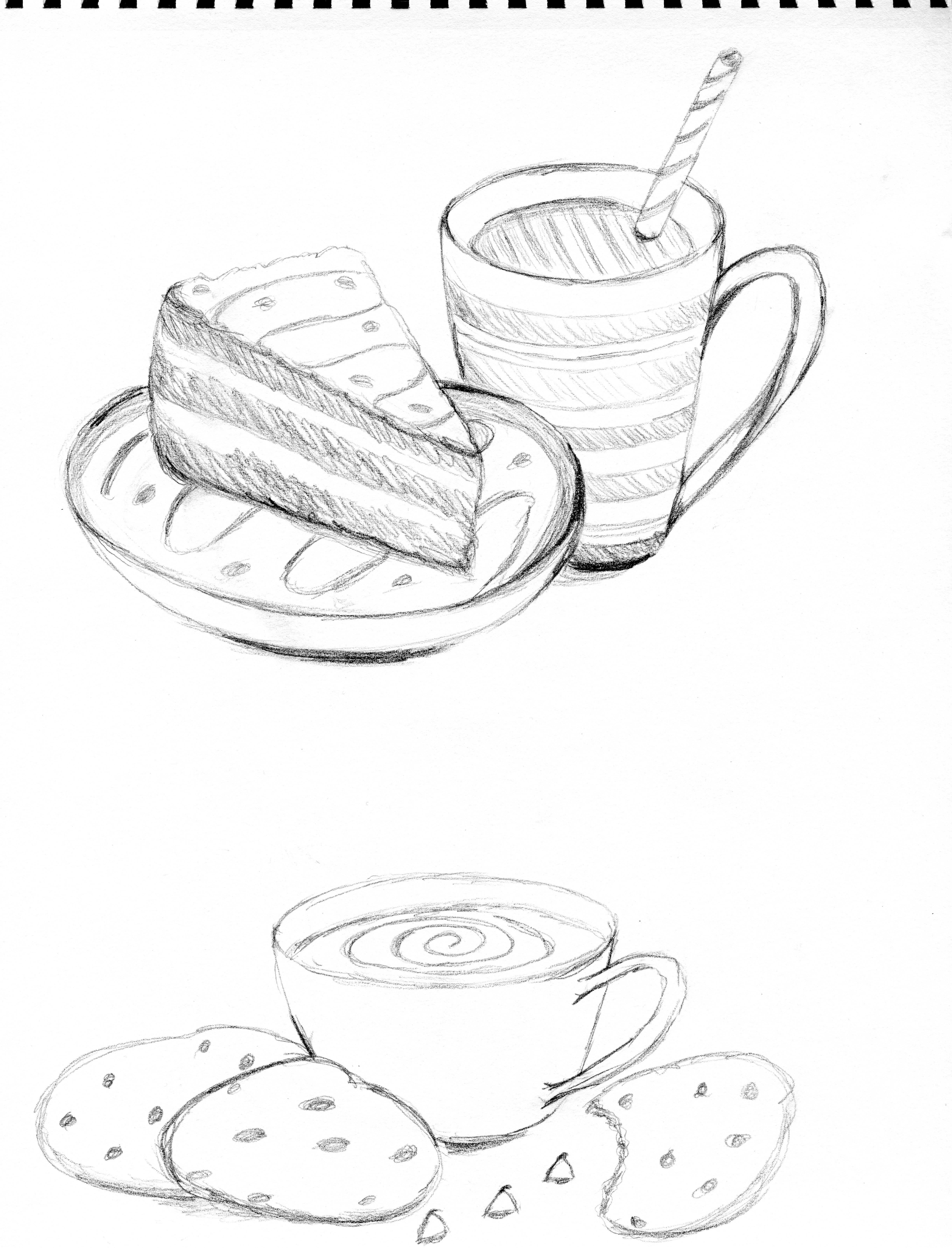 Sketch A Cake Design : Licensed Art Terri s Notebook