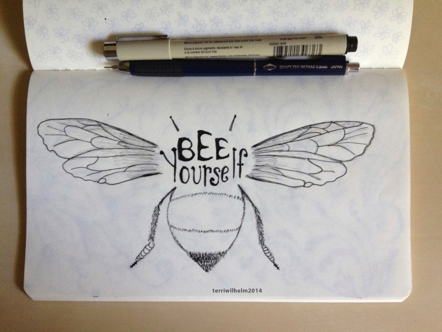 sketchbook bee yourself