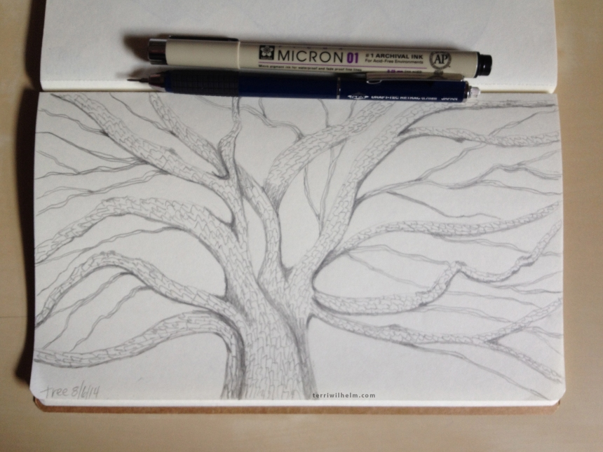 Sketchbook Day 3-tree