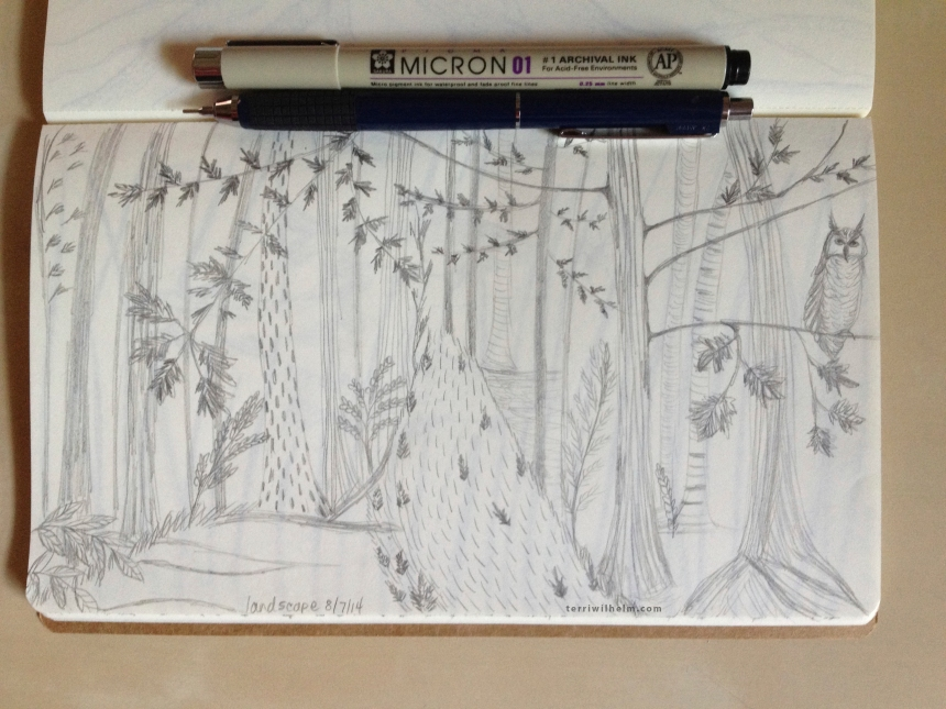 Sketchbook Day 4-landscape