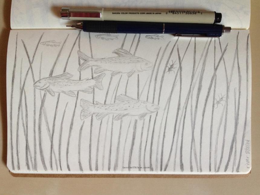 Sketchbook Day 5-river