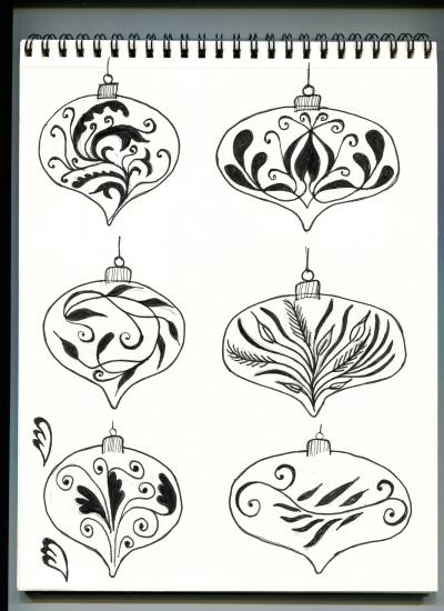 ornament sketches
