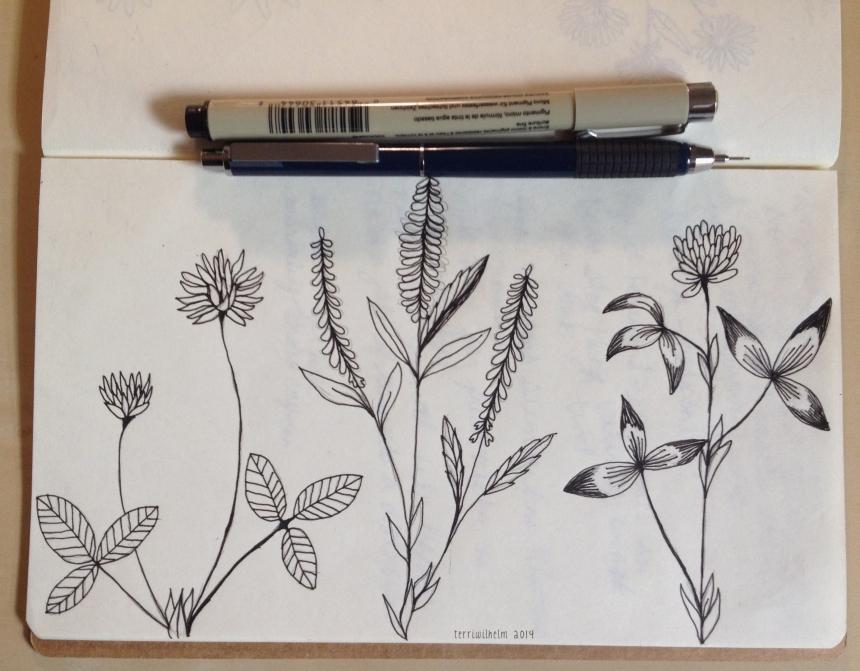 sketchbook clover