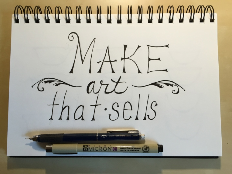 make art that sells