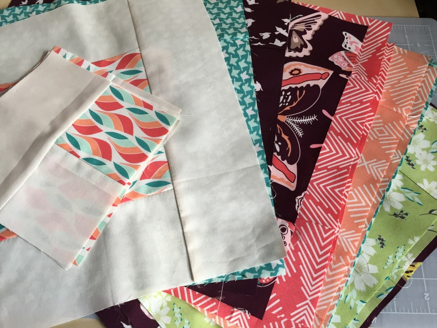 quilt blocks of Winged by Bonnie Christine