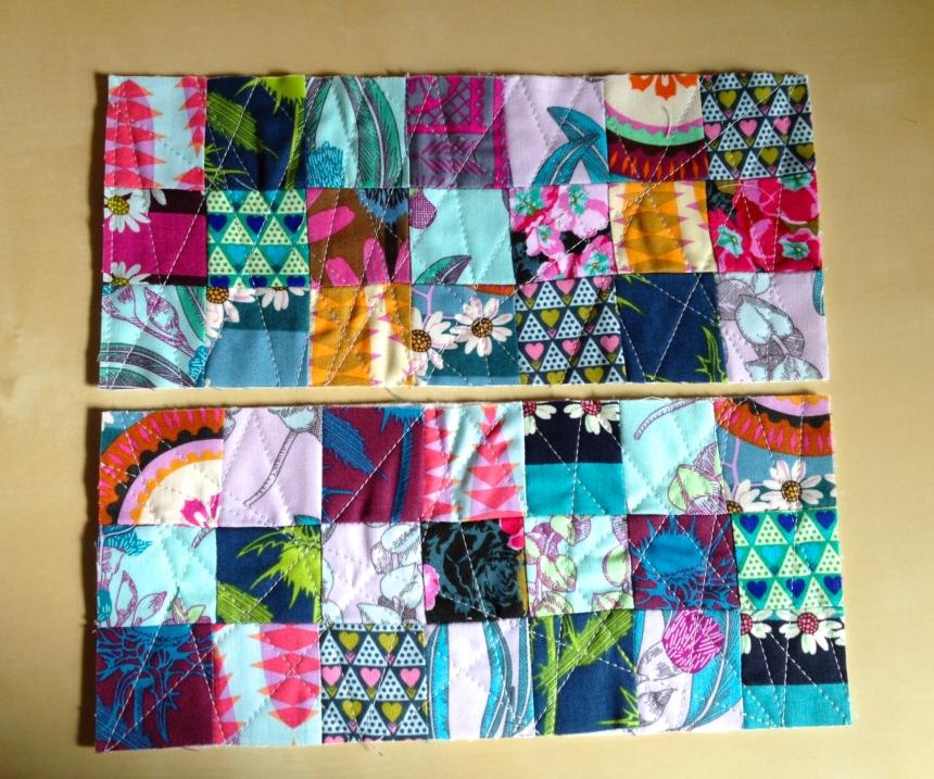 patchwork squares Anna Maria Horner Pretty Potent