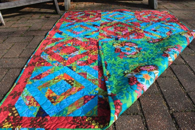 garden party quilt