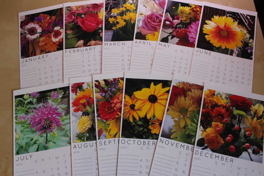 IG calendar 2015 flower pics